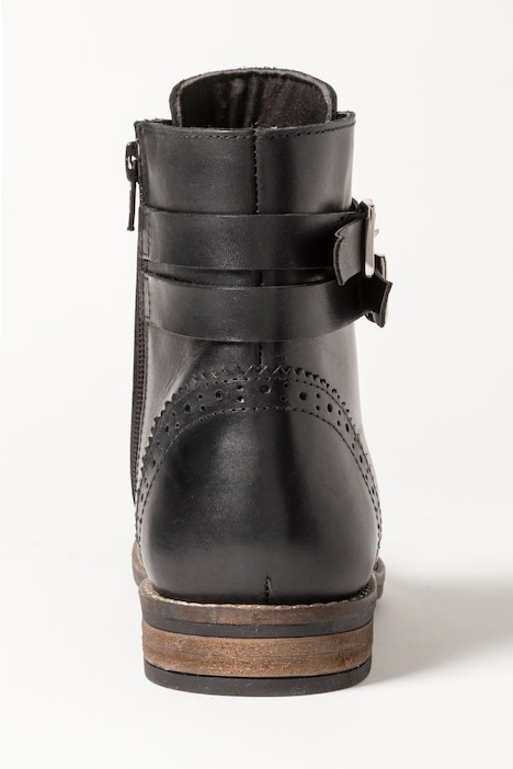 Boots cuir
