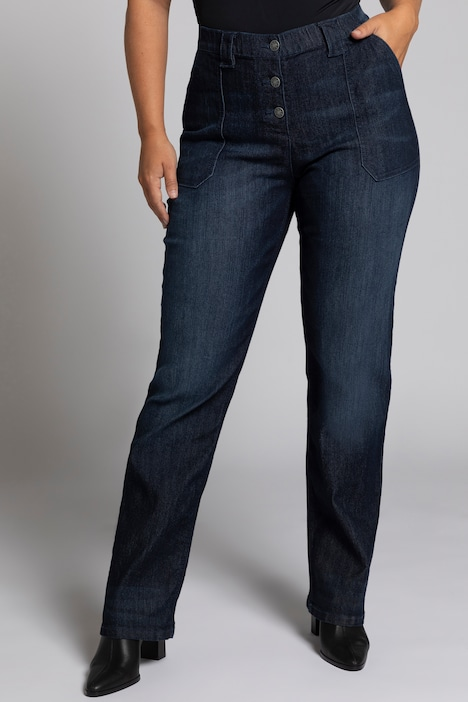 Jeans Mona, Workerstyle, 4-Pocket