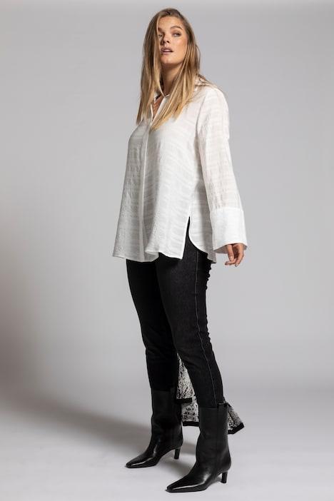Image of Grosse Grössen Bluse, Damen, beige, Größe: 42/44, Viskose/Synthetische Fasern, Ulla Popken