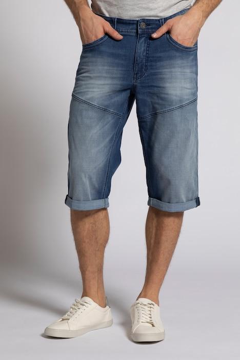 Image of Grosse Grössen 3/4-Jeans, Herren, blau, Größe: 52, Baumwolle/Polyester, JP1880