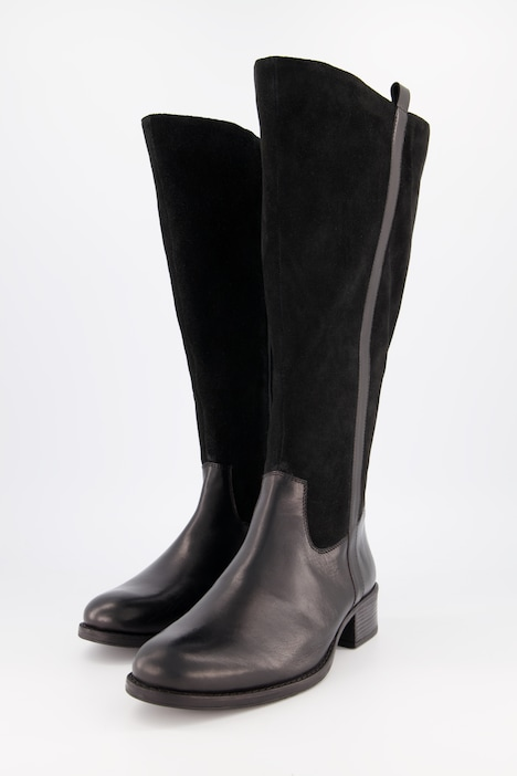 Stiefel elastischer Schaft